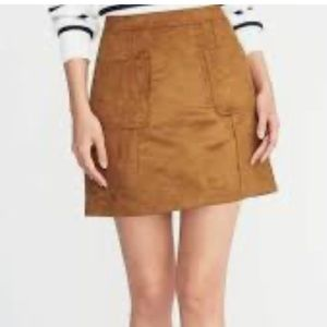Old Navy Faux Suede Skirt